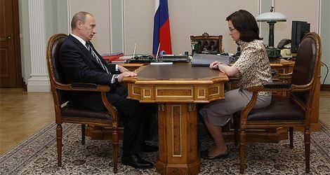 Эльвира Набиуллина всегда поддерживала Владимира Путина