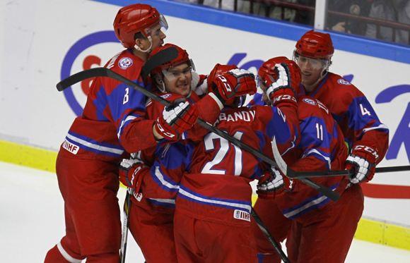 Молодежная хоккейная сборная РФ обыграла команду из США