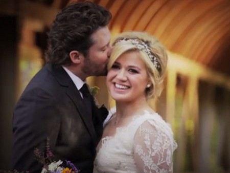 Kelly Clarkson married Brandn Blackstock