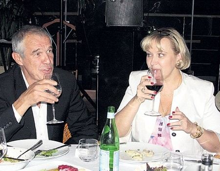 Sergey Garmash and his wife