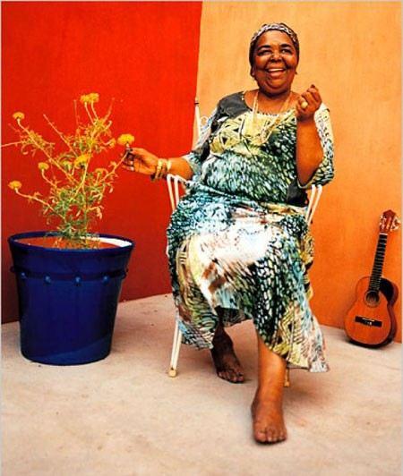 Знаменитая негритянская босая певица