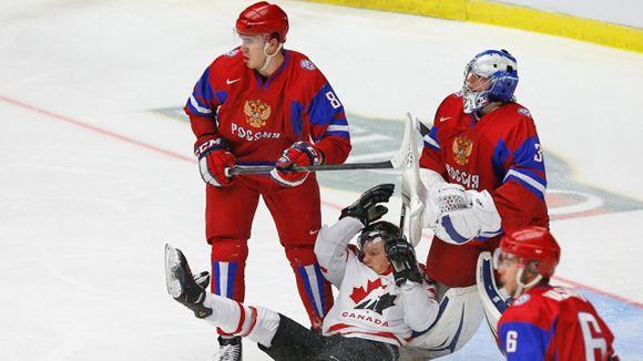 Молодежная сборная России по хоккею завоевала третье место на ЧМ