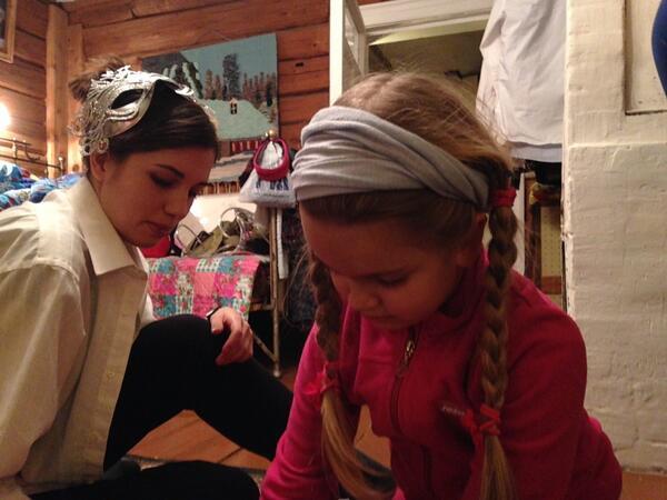 Надежда Толоконникова с дочкой
