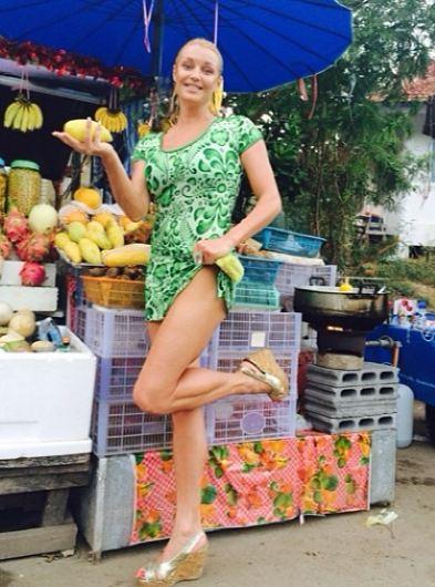Анастасия Волочкова на отдыхе в Тайланде