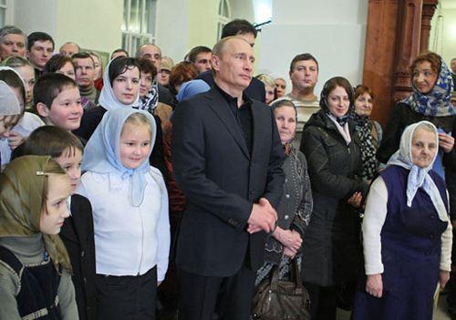 Президент поздравил россиян с Рождеством