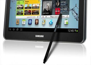 Tab Pro и Samsung Galaxy Note Pro недавно засветились на огромном баннере выставки CES 2014