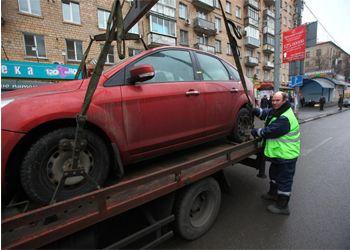 В Москве стали эвакуировать авто с иностранными номерами