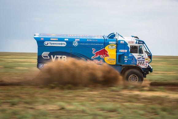 «КАМАЗ-Мастер» из-за аварии сошел с дистанции этапа ралли «Дакар-2014»
