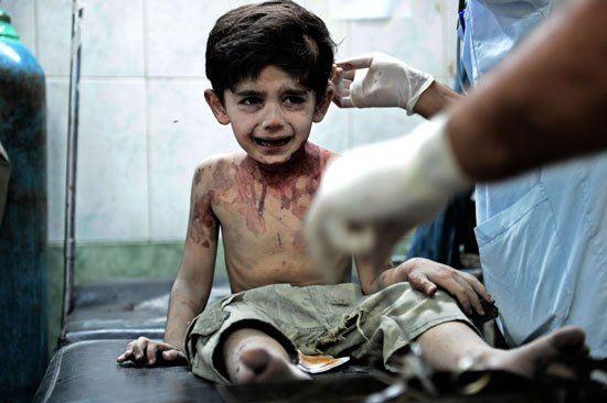 Мальчик сириец: Я пожалуюсь на вас Богу