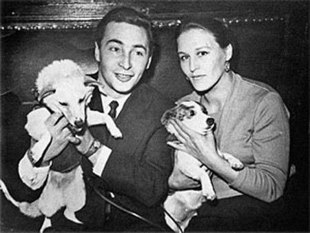 Вячеслав Тихонов с женой Нонной Мордюковой