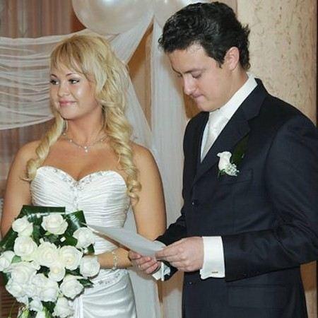 Actor Stanislav Yarushin with his wife