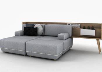Дизайнеры представили гибрид дивана и комода