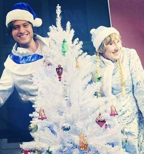 Вот так Прохор Шаляпин и Лариса Копенкина справляли Новый год