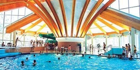 В аквапарке Водопад чудес города Магнитогорска решили возродить спортивное плавание