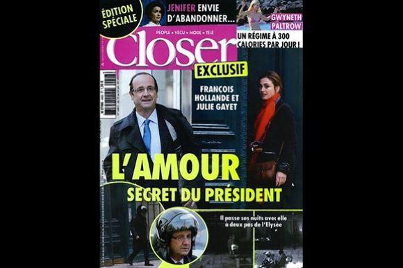 Скандальные фото не испортили рейтинг президента Франции