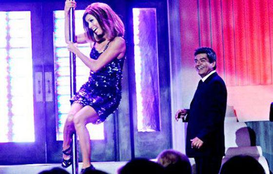 Eva Longoria at the George Lopez Show