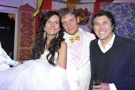 олег тиньков с женой фото