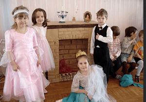 Праздник в частном детском саду «Жемчужинка»