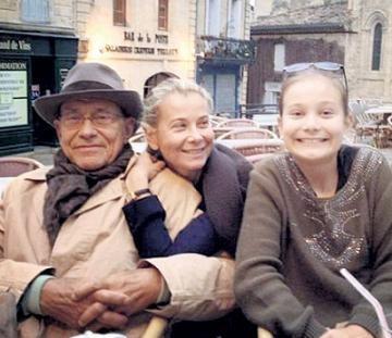 Мария, Юлия Высоцкая и Андрей Кончаловский