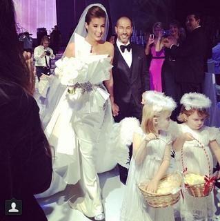Свадьба Кети Топурия и Льва Гейхмана