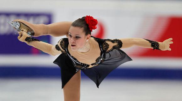 Российская фигуристка победила в короткой программе на ЧМ в Будапеште