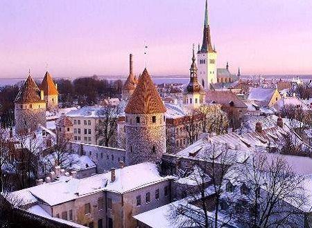 Таллин привлекает русских туристов