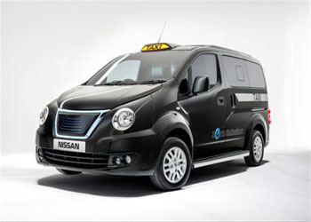 Nissan представил для Лондона уникальное такси