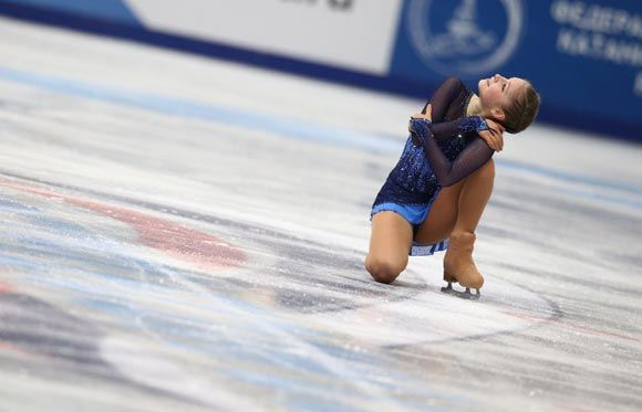 Молодая российская фигуристка победила в сольной программе на чемпионате Европы