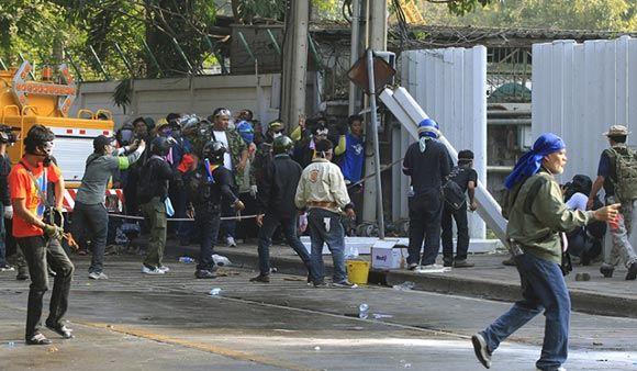 В Бангкоке снова подорвали толпу оппозиционеров