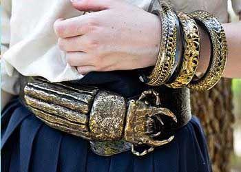 Дизайнеры рассказали, что в текущем году в моде не только стильная бижутерия, но и золото