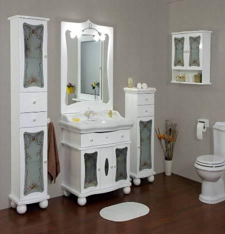 Стандартный набор мебели для ванной