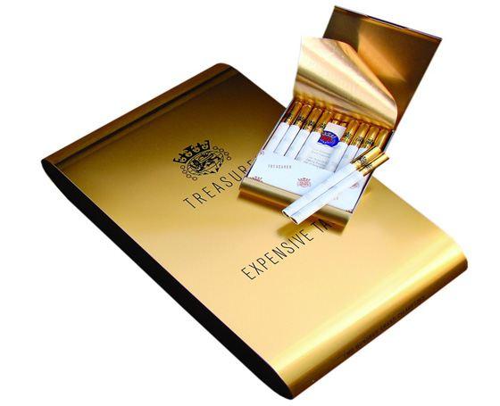 Treasurer - the most expensive cigarettes for true connoisseurs.