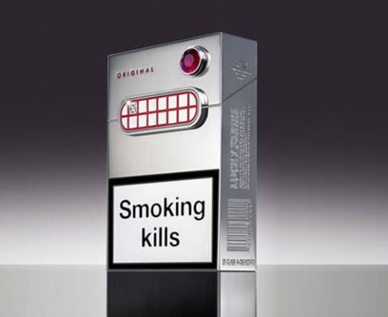 Lucky Strike - the most expensive pack of regular cigarettes