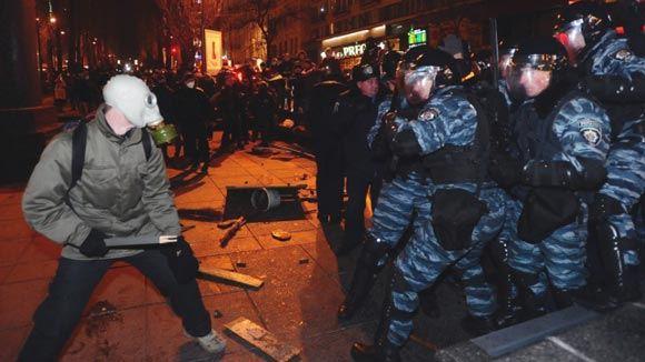 В столице Украины разгромили студию телерадиокомпании «Киев»