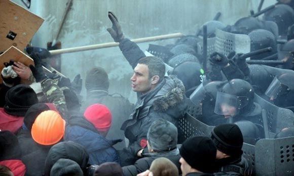 Кличко призывает силовиков перейти на сторону оппозиции
