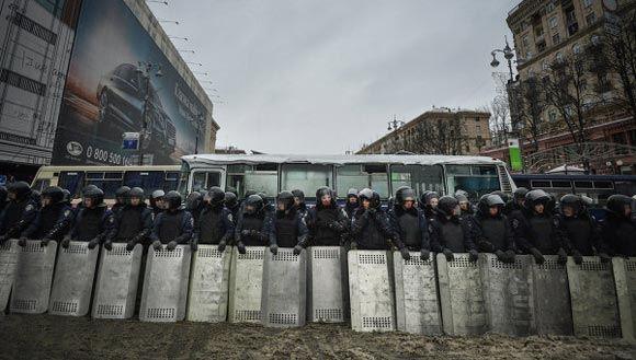 В столице Украины протестующие взяли штурмом Министерство аграрной политики