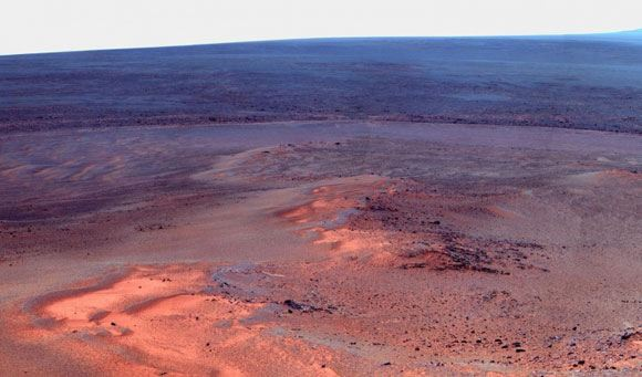 Opportunity нашел на Марсе следы воды