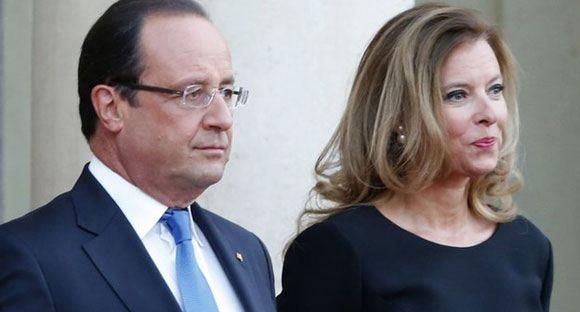 Супруга Олланда не планирует делать публичных заявления на тему его измены