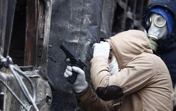 В столице Украины милиция обезвредила ОПГ, которая могла снабжать протестующих огнестрельным оружием