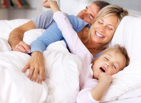 Сон должен быть крепким у обеих супругов