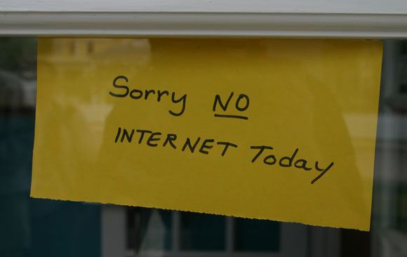 Многие интернет-пользователи провели 26 января вдали от компьютера и сети