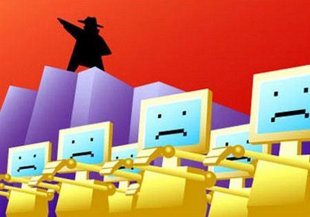 На интернет-магазин «220 Вольт» произведена DDoS-атака.