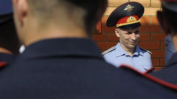 Путин принял отставку главы подмосковной полиции