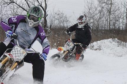 Чемпионат России по зимнему мотокроссу