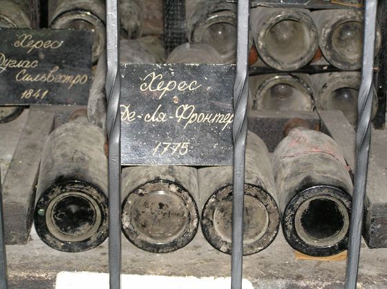 самое дорогое вино Российском империи - массандровский херес