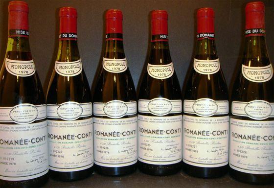 Самые лучшие вина Франции - Montrachet Domaine de la Romanee Conti