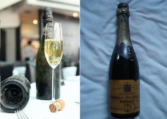 Самое дорогое в мире вино - Heidsieck & Co. Monopole Champagne