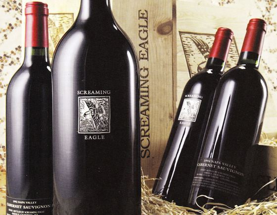 Самое дорогое вино - Screaming Eagle, проданное на благотворительном аукционе