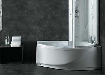 Душевые кабины с ванной - отличный вариант даже для небольшой комнаты