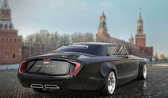 Детальный проект нового российского автомобиля для первых лиц государства готов
